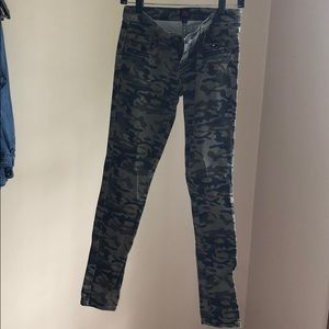 Camo Jeans from 2b by bebe